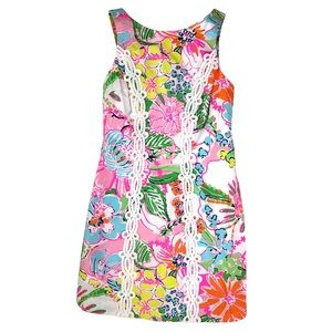 Lilly Pulitzer Nosey Posey Shift Size 2 (0/XS)